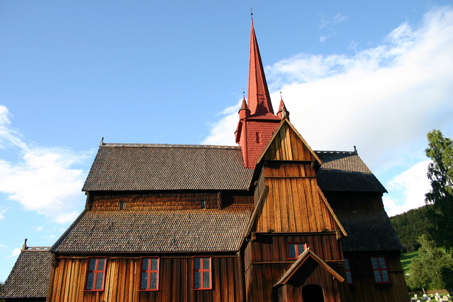 Stabkirche Symbolfoto